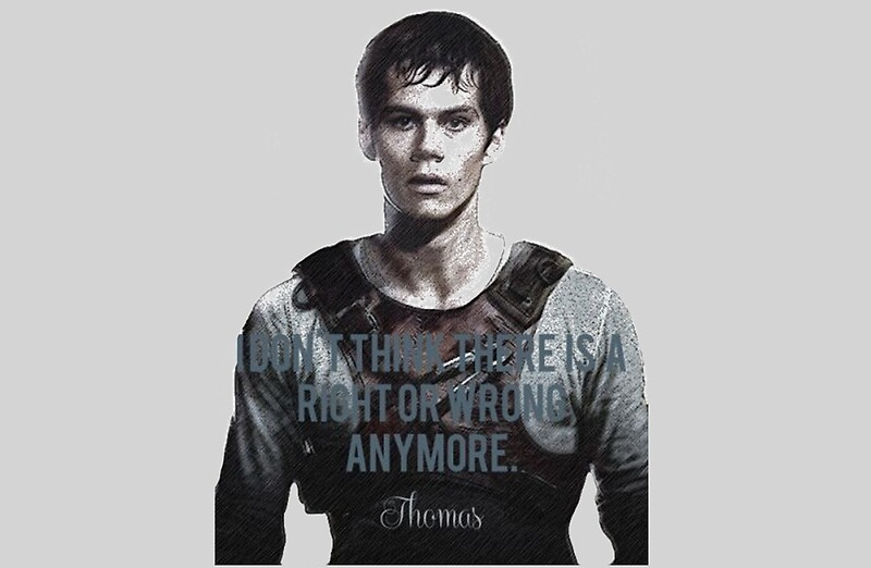 "Maze Runner Quotes With Page Numbers: ""thomas Quotes The Maze Runner The Scorch Trials"" Laptop"
