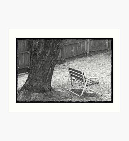 Winter Dusting Art Print