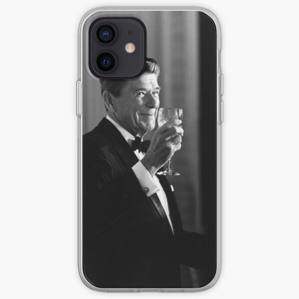 President Reagan Making A Toast iPhone Soft Case