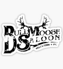 Bull Moose Saloon - NYC Sticker