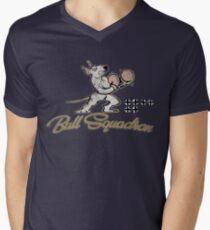 Bull Squadron Men's V-Neck T-Shirt