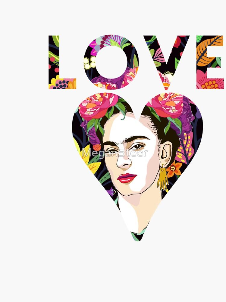 LOVE- Frida Kahlo Version by MeganSteer