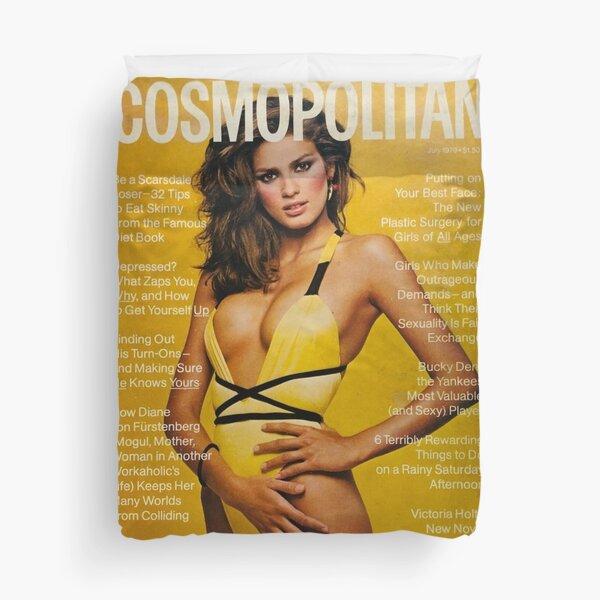 Gia Carangi's infamous Cover Duvet Cover
