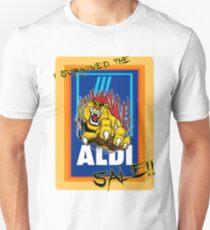 I survived the Aldi sale. T-Shirt