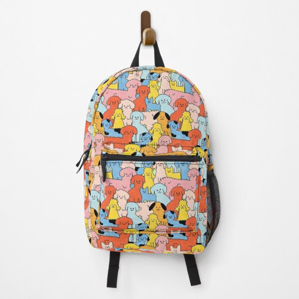 Pup Rally - The Peach Fuzz Backpack