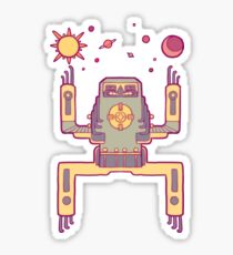 Space Sloth Sticker