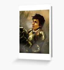 Reveal the Warrior Greeting Card
