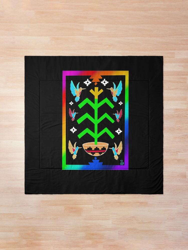 Alternate view of Tree of Life Pride  Comforter