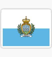 Flag of San Marino Sticker