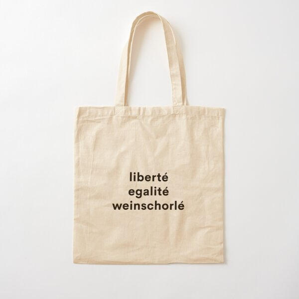 liberte egalite wine spritzer Cotton Tote Bag
