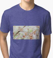 Watercolor Blossoms Tri-blend T-Shirt