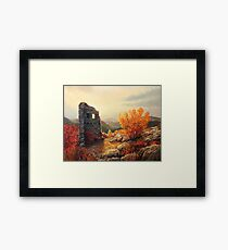 Old Fortress Ruins Framed Print
