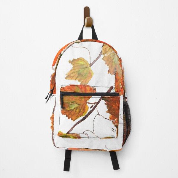 orange grapevine watercolor  Backpack