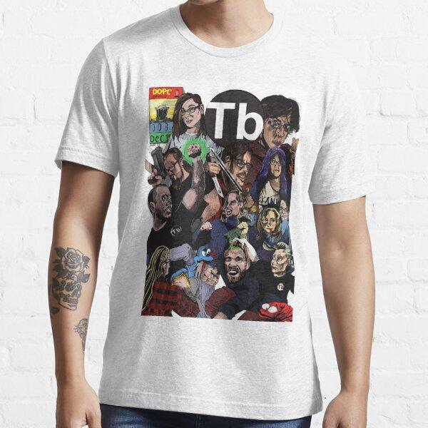 TRASHburgh Comic Book Print Essential T-Shirt