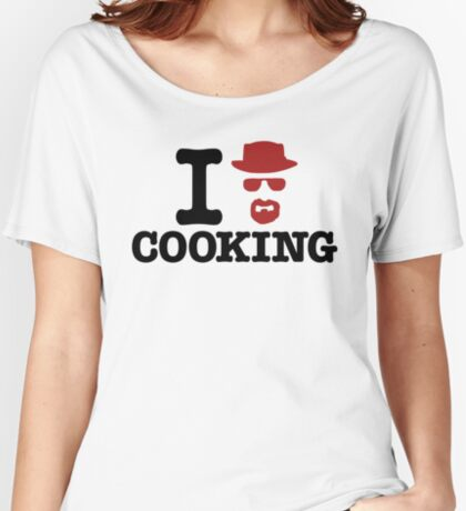 Heisenberg - I love cooking Women's Relaxed Fit T-Shirt