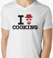 Heisenberg - I love cooking Mens V-Neck T-Shirt