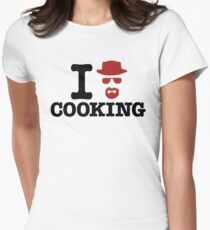 Heisenberg - I love cooking Womens Fitted T-Shirt