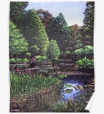Southampton Hillier Gardens Poster