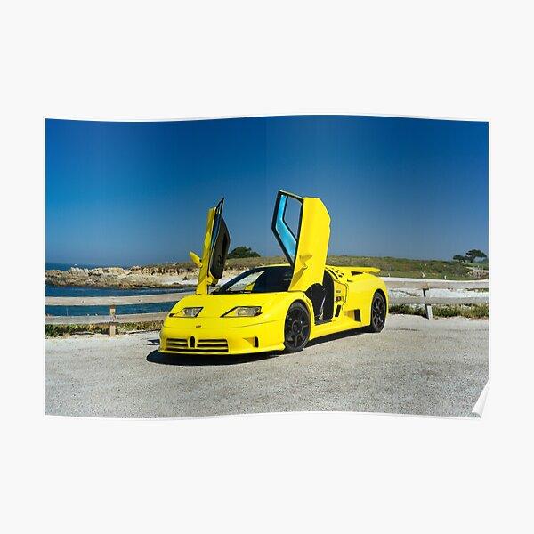 Bugatti EB110 SuperSport Poster