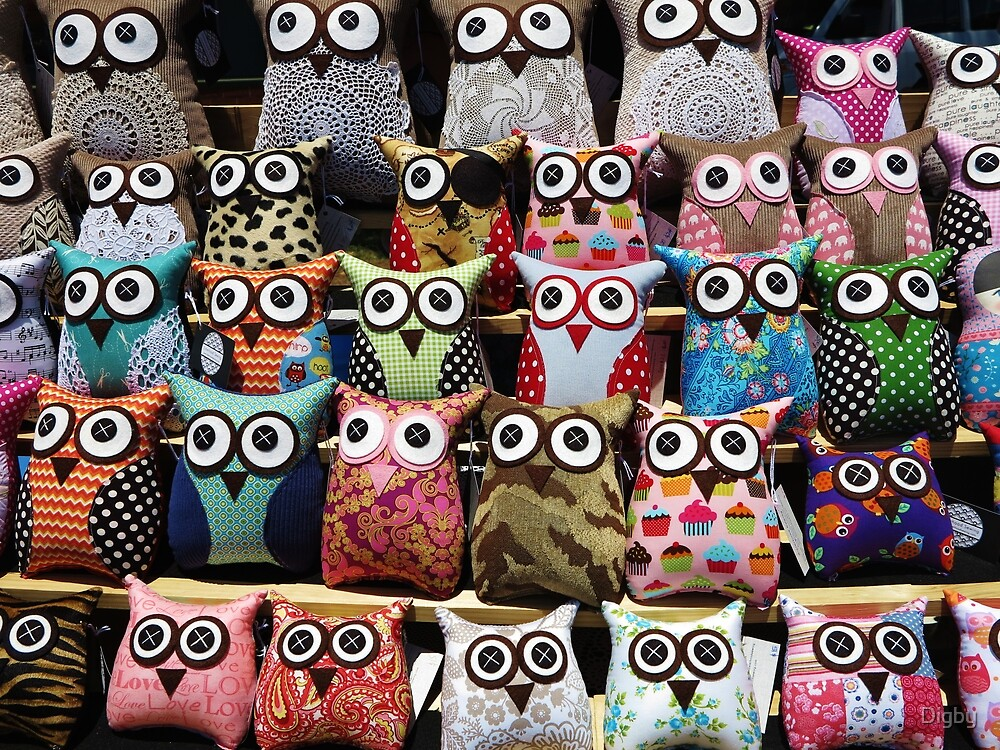 The Owls by Digby