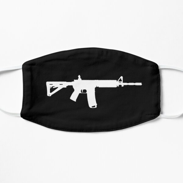 AR 15 Armalite Rifle Assault Rifle Weapon Gun Firearm 2nd Amendment Mask