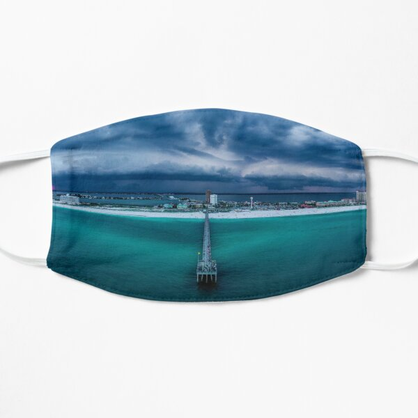 Panoramic Beach Storm Mask