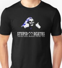 Horrible Histories - Stupid Deaths Unisex T-Shirt