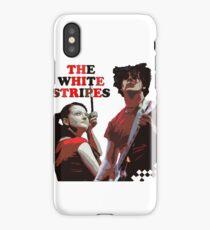 white stripes iPhone Case/Skin