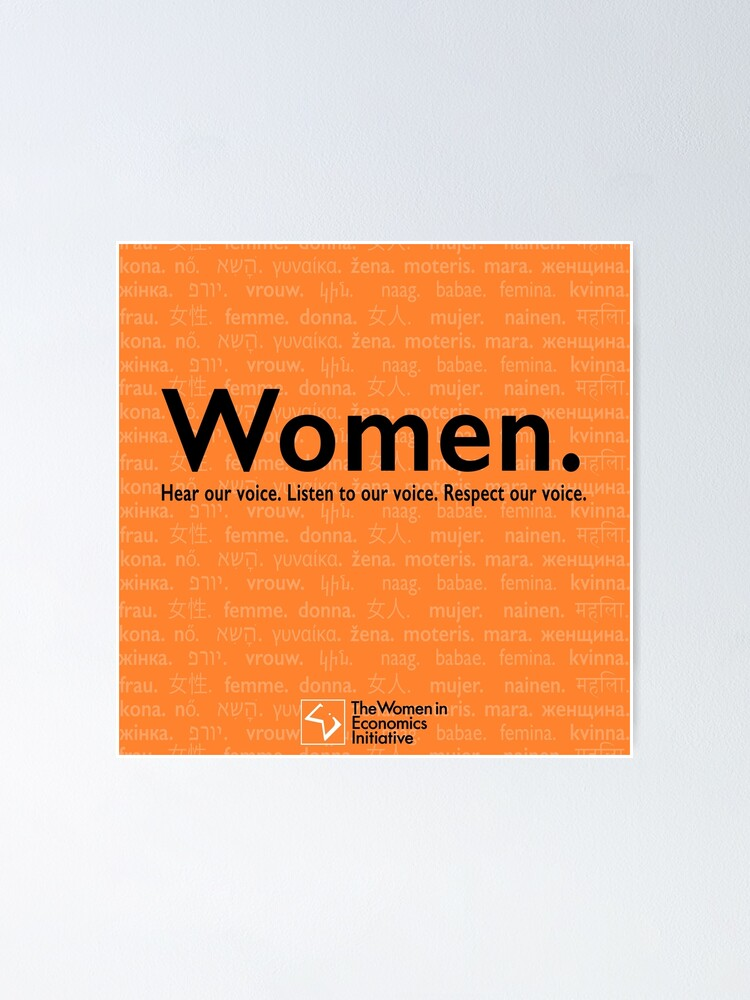 Alternate view of Voices in Orange Poster
