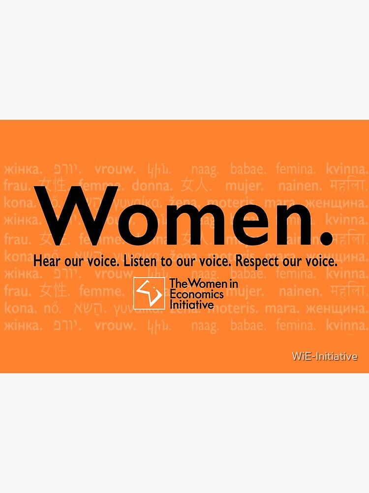 Voices in Orange by WiE-Initiative