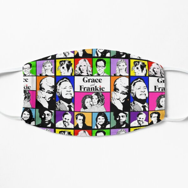 Grace and Frankie Flat Mask