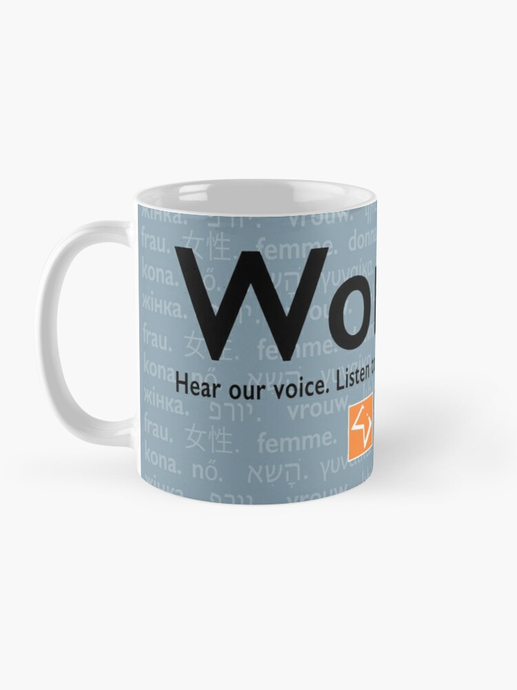Alternate view of Voices in Blue Mug