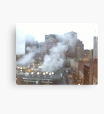 Boston. A city breathing. Canvas Print