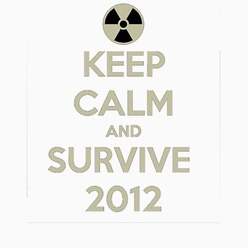 Keep Calm And Survive 2012 by KMayhew94