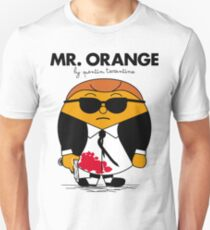 Mr. Orange (Mr. Men versus Reservoir Dogs) Unisex T-Shirt