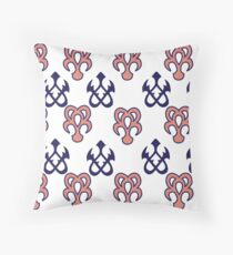 Kingdom Hearts 3D spirit signs Throw Pillow