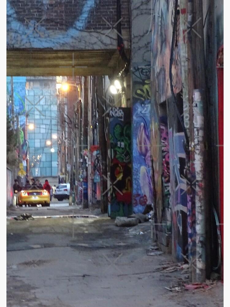 Graffiti alley toronto, City vibe,  by PicsByMi