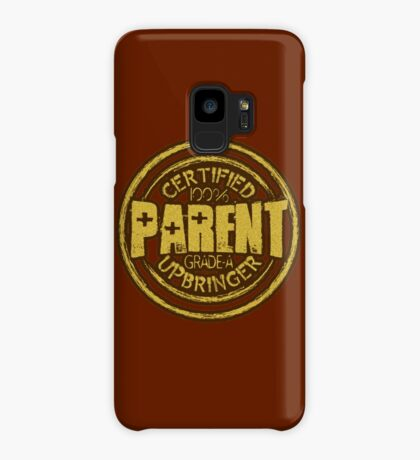 Certified Parent Badge Case/Skin for Samsung Galaxy