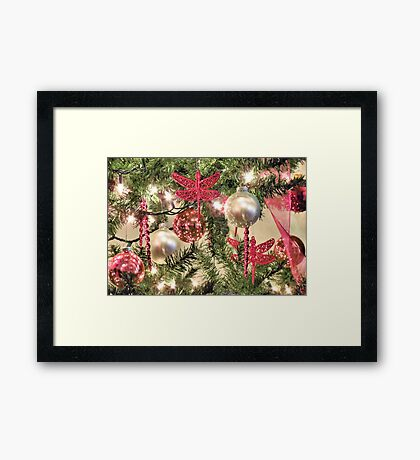 All I want for Christmas is You~ In Memory of My Mom Victoria Lynn Framed Print