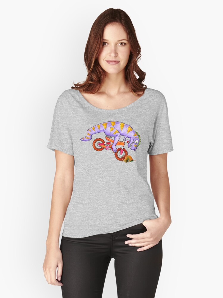 T-Wrecks Women's Relaxed Fit T-Shirt Front