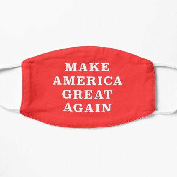 MAKE AMERICA GREAT AGAIN Donald Trump 2020 Flat Mask