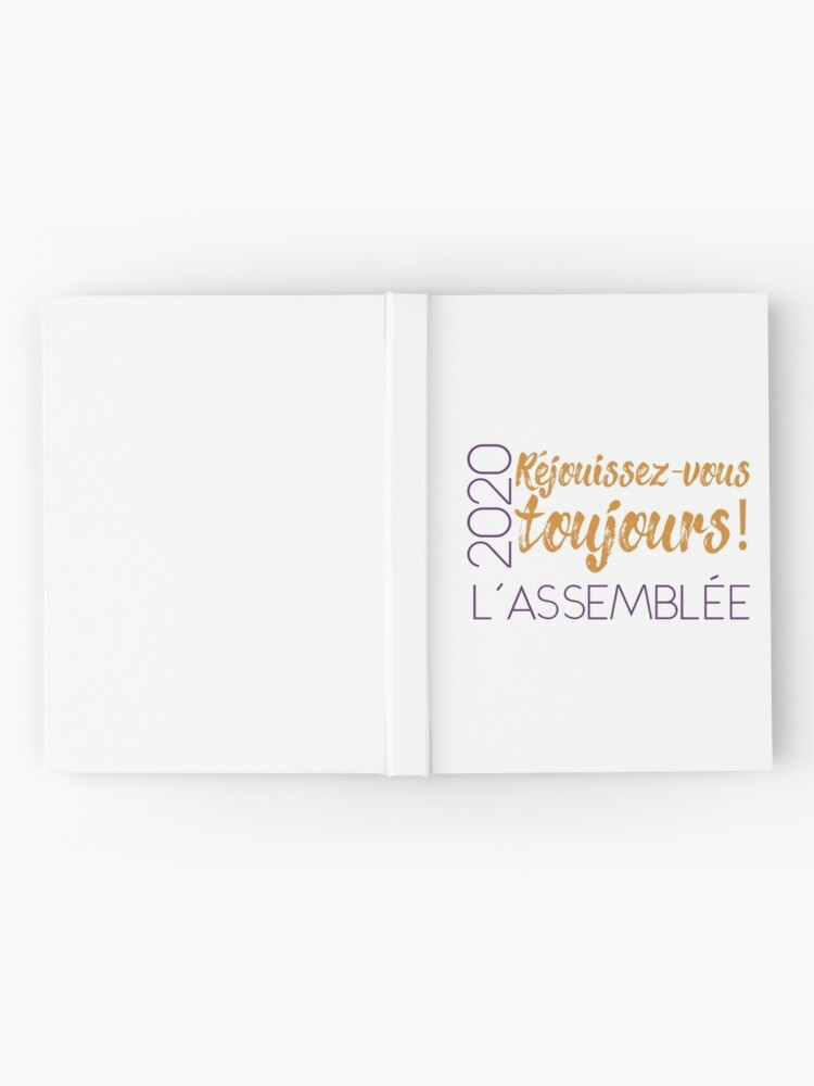 Alternate view of Réjouissez-Vous Toujours! - Always Rejoice in French Hardcover Journal