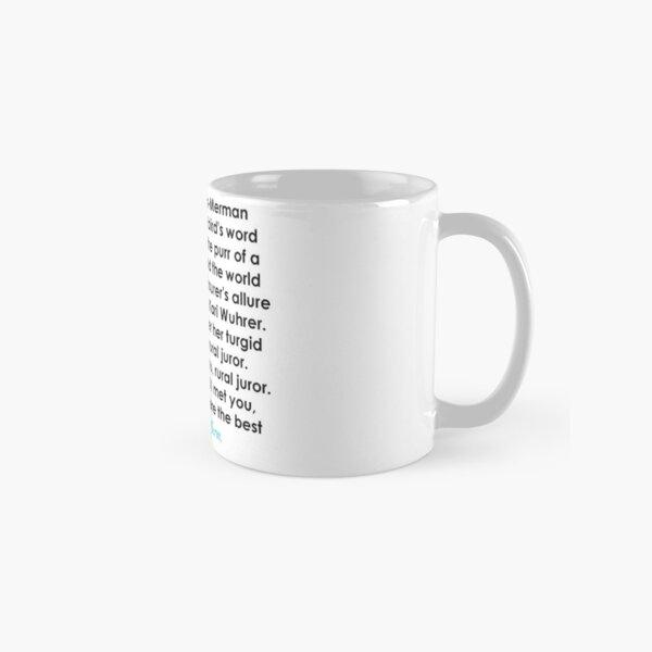 Rural Juror Lyrics Classic Mug