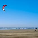 Kiteboarding by John Burtoft