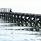 Alone on the old Pier by cclaude