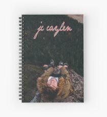 Cuaderno de espiral Jc Caylen mirando hacia arriba