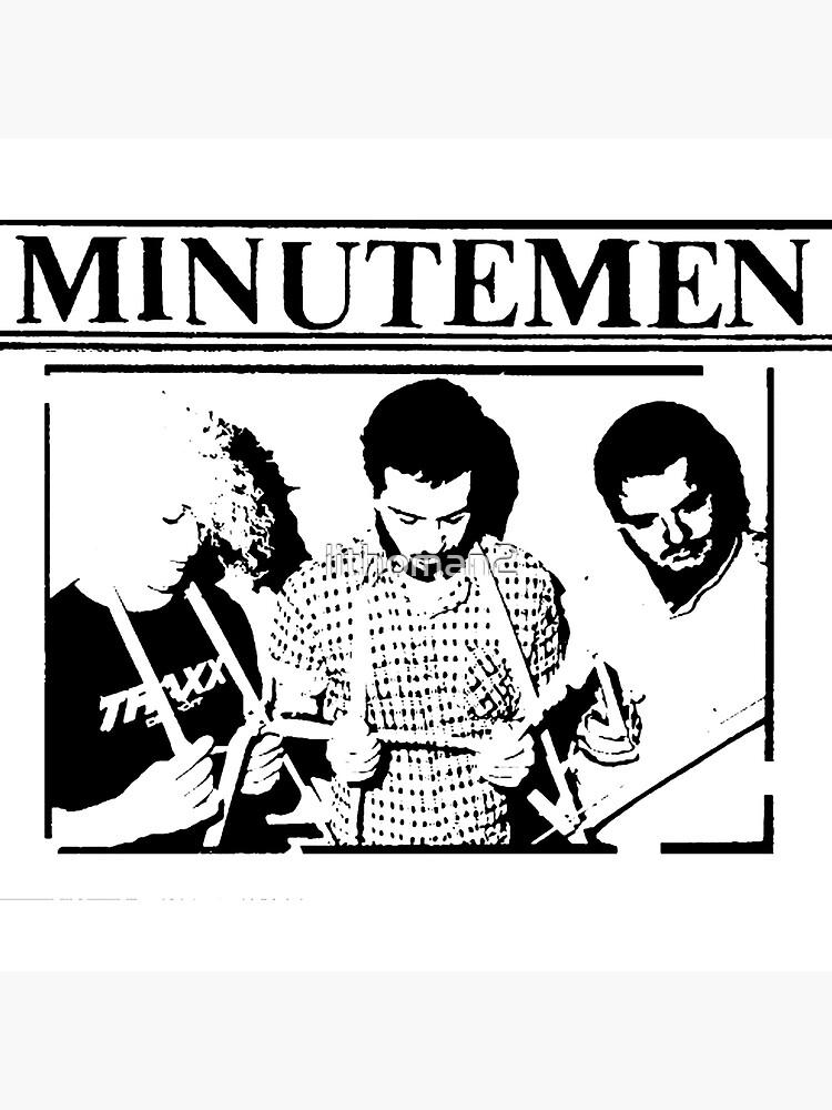 Minutemen Punk Band by lithoman2