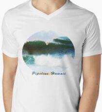 Banzai Pipeline Hawaii Men's V-Neck T-Shirt