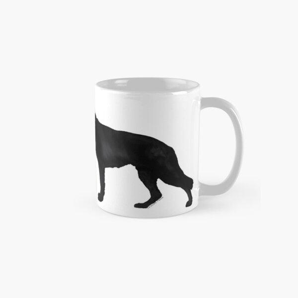 German Shepherd: Black Classic Mug