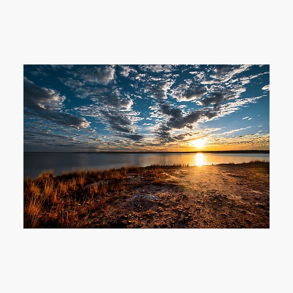 Central Queensland Sunset Photographic Print